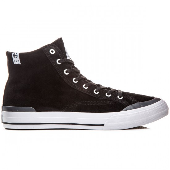 HUF Classic Hi Shoes - Black/Slate - 8.0