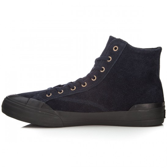 HUF Classic Hi Shoes - Dark Navy/Black - 6.0