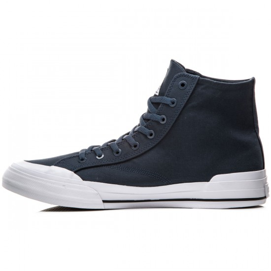 HUF Classic Hi Shoes - Navy - 8.0