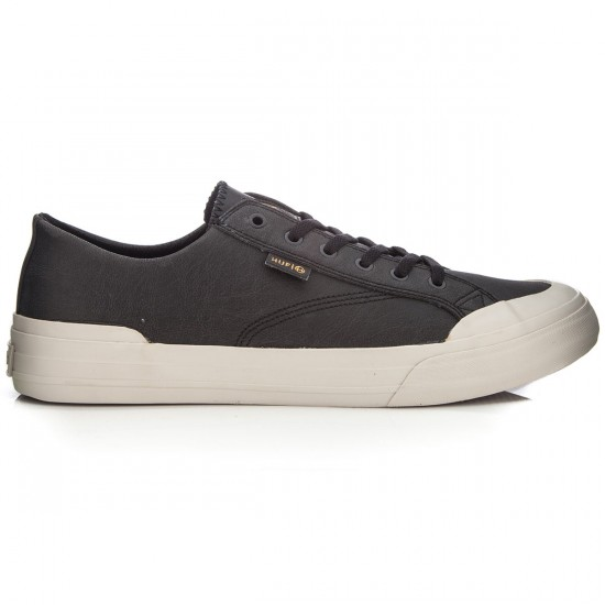 HUF Classic Lo Shoes - Black Elephant - 6.0