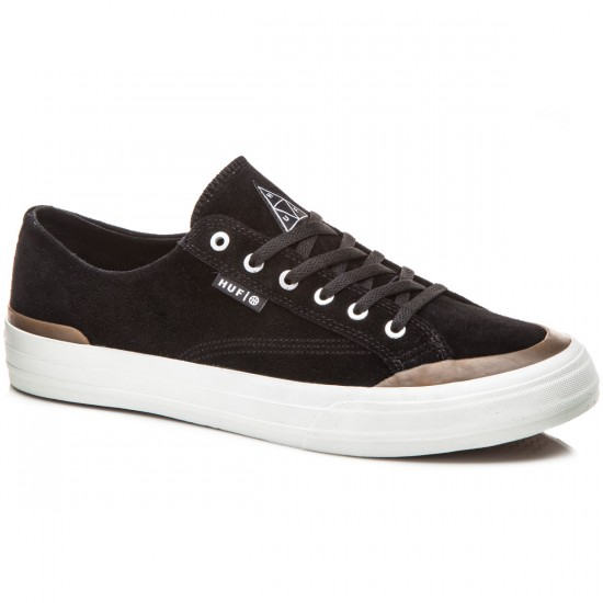 HUF Classic Lo Shoes - Black/Gum - 8.0
