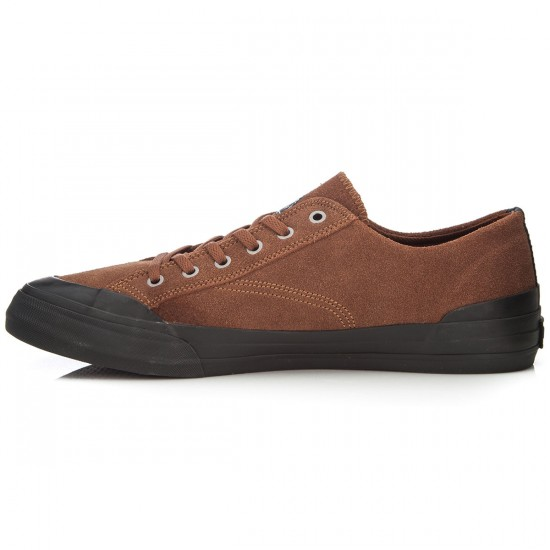 HUF Classic Lo Shoes - Brown/Black - 6.0