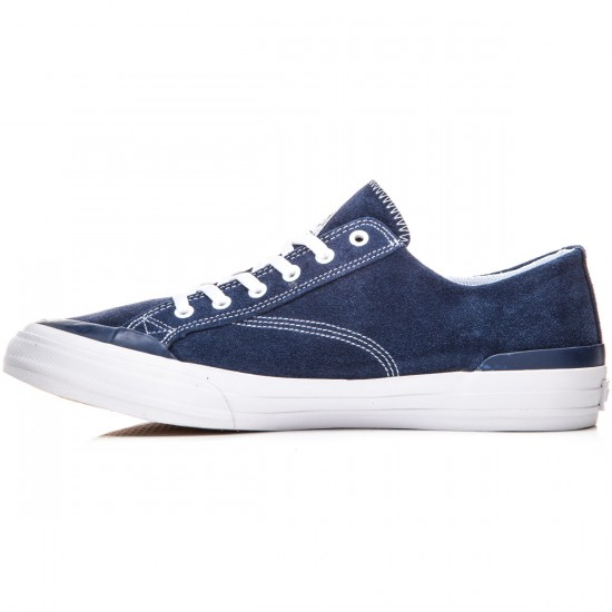HUF Classic Lo Shoes - Navy/White - 8.0
