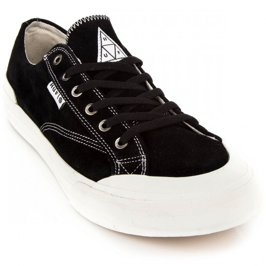 HUF Classic Lo Ess Tx Shoes - Black - 4.0