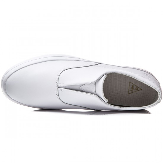 HUF Dylan Slip On Shoes - White - 8.0