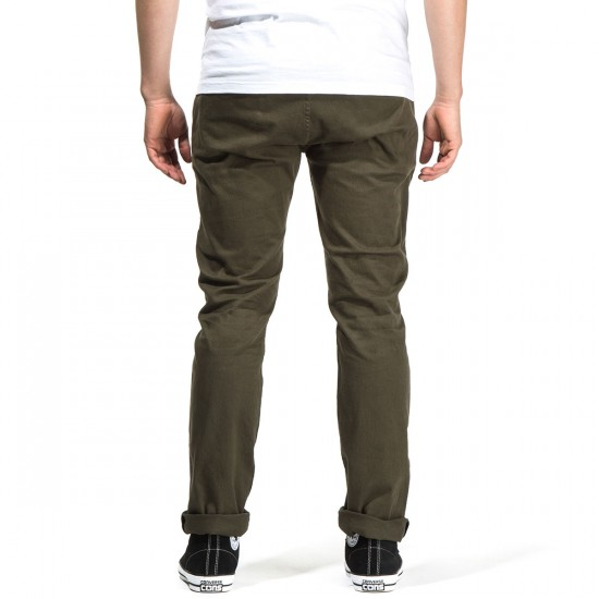 Imperial Motion Chapter Chino Pants - Olive - 28 - 32