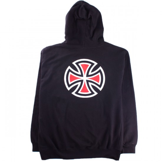 Independent Bar/Cross Pullover Hooded Sweatshirt - Black