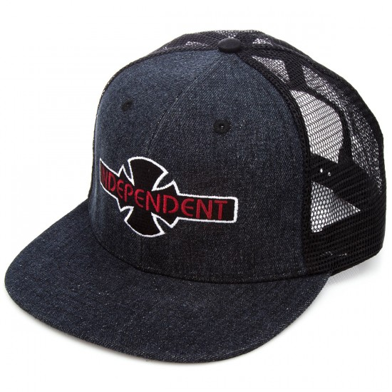 Independent O.G.B.C. Mesh Trucker Hat - Acid Black
