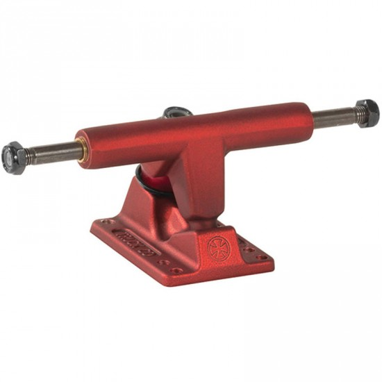 Independent Stage 11 Ano Series T-Hanger Skateboard Trucks - Oxblood Red
