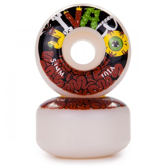 Jivaro El Trigo Skateboard Wheels 53mm 101a - White