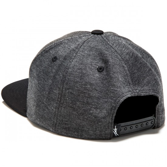 JSLV Drafted Snap Back Hat - Black