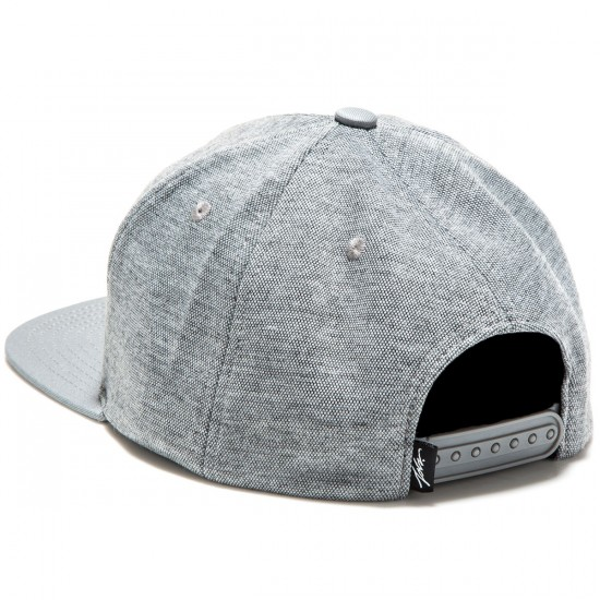 JSLV Drafted Snap Back Hat - Grey