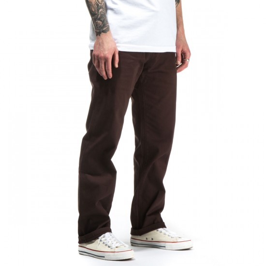 JSLV Proper Worker Pants - Chocolate - 28 - 32