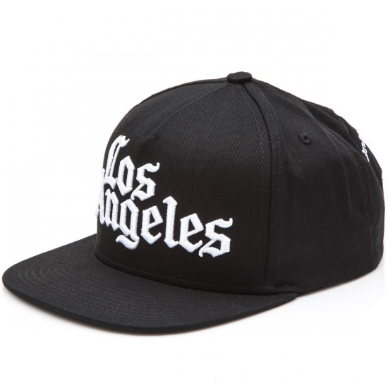 JSLV Times Snap Back Hat - Black