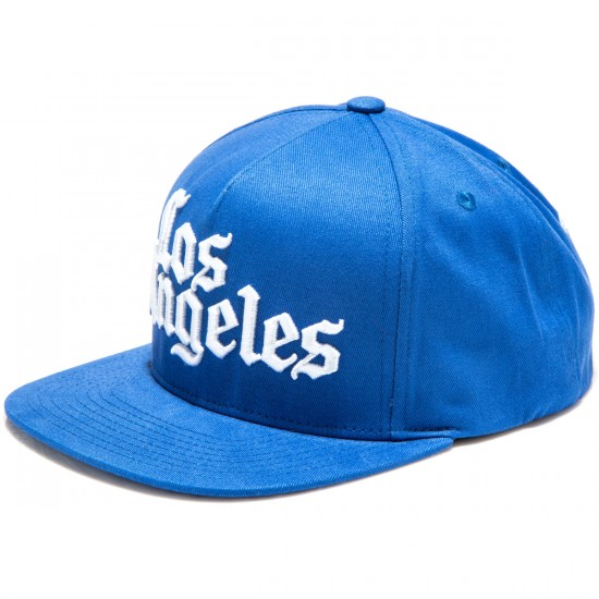 JSLV Times Streets Snap Back Hat - Blue