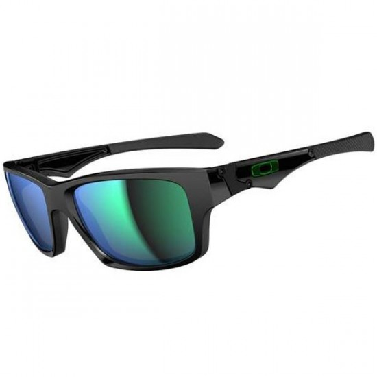 Oakley Jupiter Squared Sunglasses - Polished Black/Jade Iridium