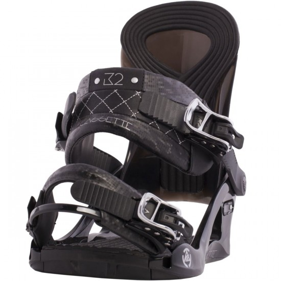 K2 Cassette Women's Snowboard Bindings 2015 - Black