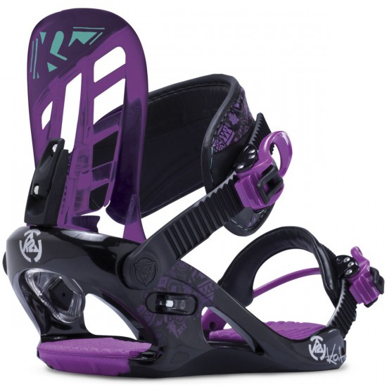 K2 Kat Girls Snowboard Bindings - Black