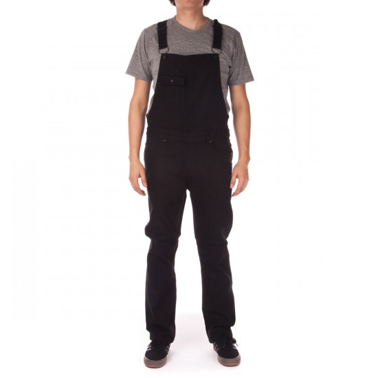 KR3W Cletus Overall Jeans - Black - LG