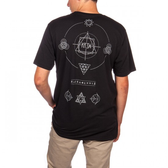 KR3W Geo T-Shirt - Black