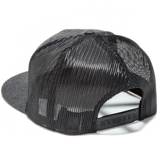 KR3W Hank 2 Trucker Hat - Black/Brown