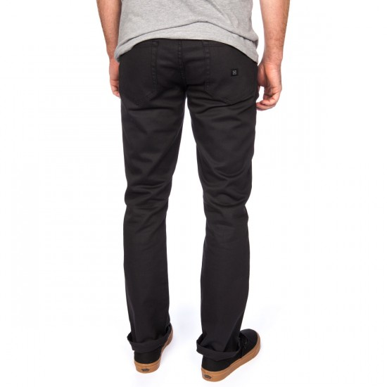 KR3W K Slim 5 Pocket Jeans - Carbon
