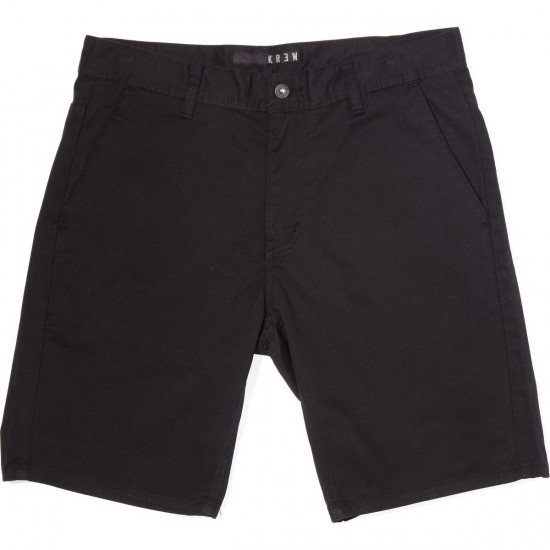 KR3W K Slim Wino Shorts - Black - 28