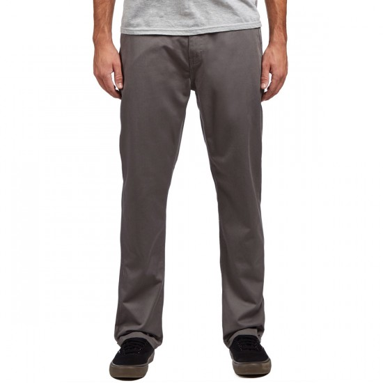KR3W Klassic XL Rigid Chino Pants - Gunmetal