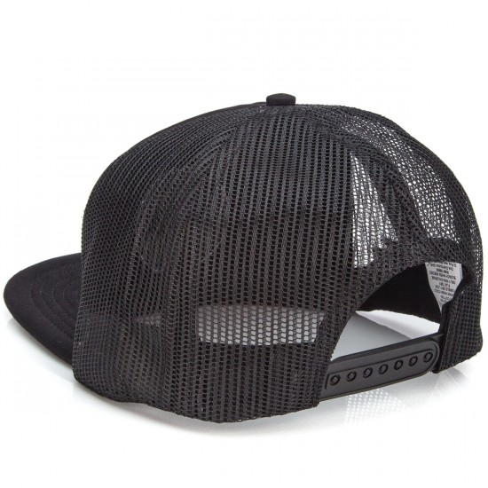 KR3W X Sketchy Tank Trucker Hat - Black