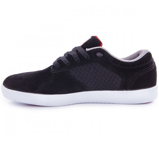 Lakai BB4 Shoes - Black Suede - 13.0