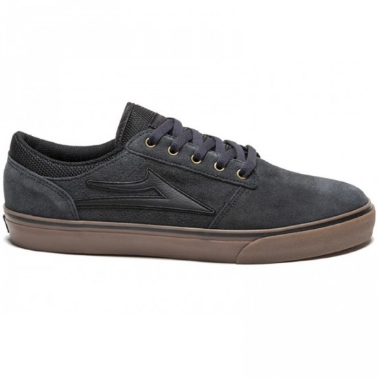 Lakai Brea Shoes - Grey/Gum Suede - 12.0