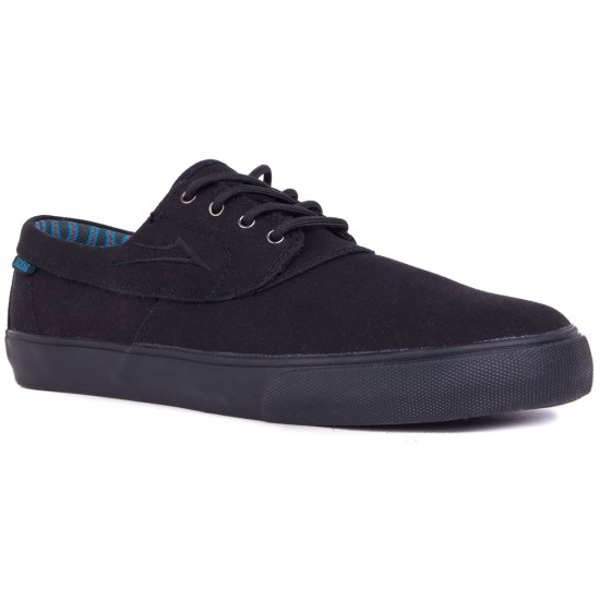 Lakai Camby Earl Shoes - Canvas - Black Canvas - 9.0