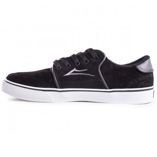 Lakai Carlo Shoes - Black/Grey - 13.0