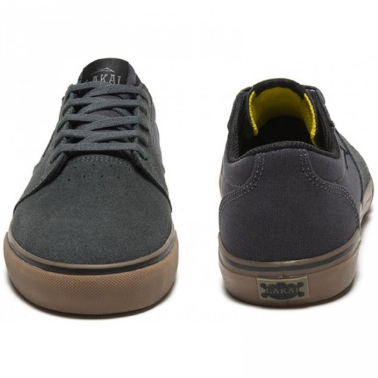 Lakai Fura Shoes - Grey/Gum Suede - 5.0