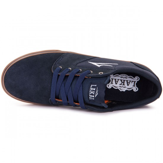 Lakai Fura Shoes - Midnight Suede - 8.0