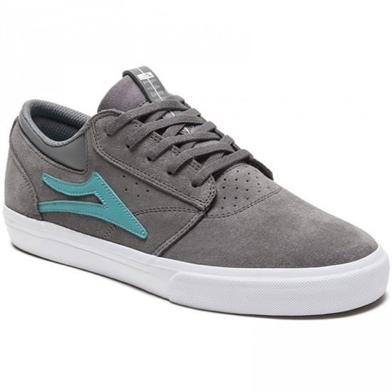 Lakai Griffin Shoes - Grey Suede - 8.0