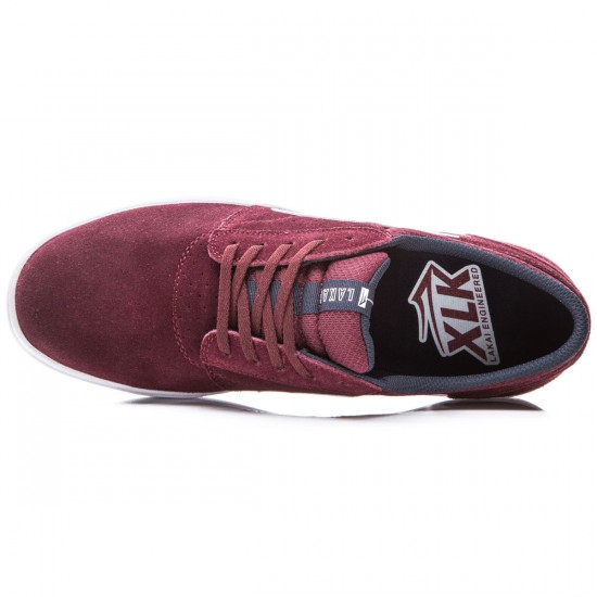 Lakai Griffin XLK Shoes - Burgundy/Suede - 8.0