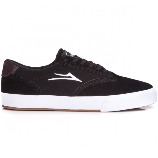 Lakai Guymar Shoes - Black/Suede - 6.0