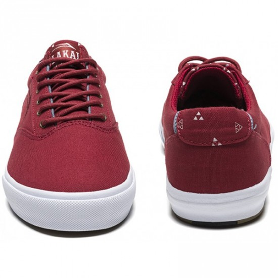 Lakai x Fourstar Guymar Shoes - Cardinal Canvas - 5.0