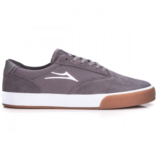 Lakai Guymar Shoes - Grey/Gum Suede - 6.0