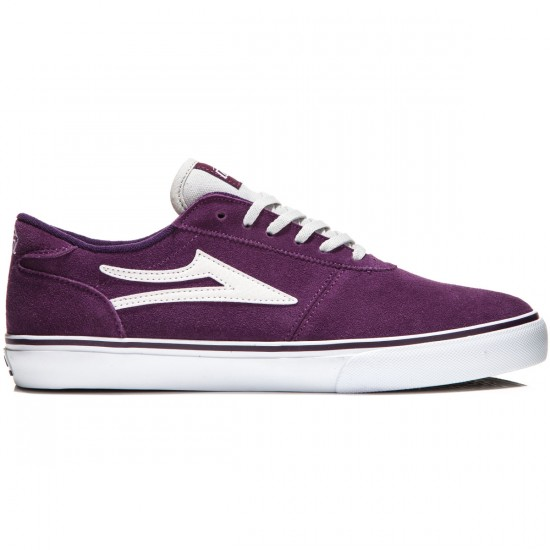 Lakai Manchester Shoes - Purple Suede - 8.0