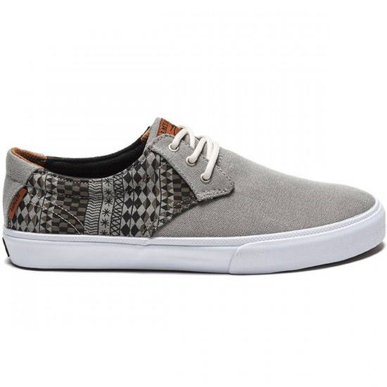 Lakai MJ Adobe Shoes - Aluminum Washed Canvas - 9.0