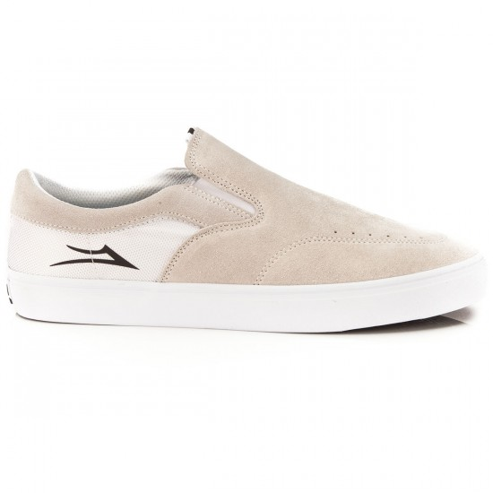 Lakai Owen Chalk Shoes - White/White/Suede - 10.0