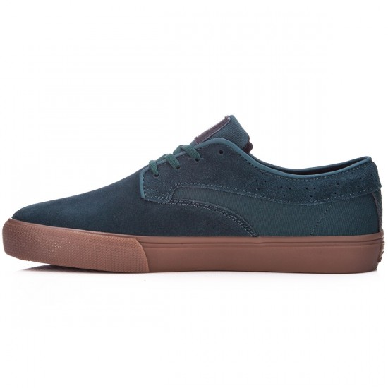 Lakai Riley Hawk Shoes - Pine Suede - 10.0