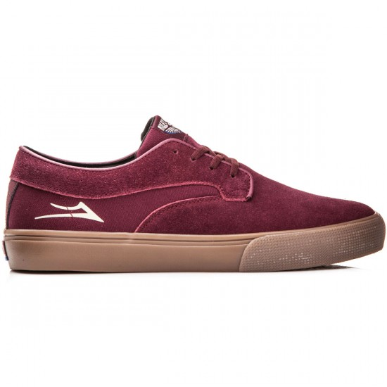 Lakai Riley Hawk Shoes - Port Suede - 8.0