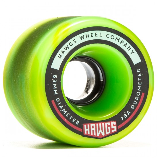 Landyachtz Fatty Hawgs Longboard Wheels - 63mm - 78a - Swirl