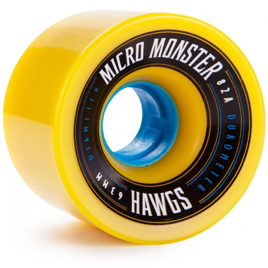 Landyachtz Micro Monster Hawgs Longboard Wheels 63mm