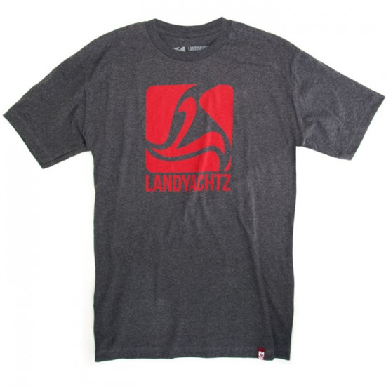 Landyachtz Red Square Logo T-Shirt