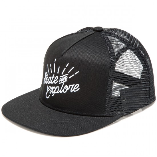 Landyachtz Trucker Hat - Black