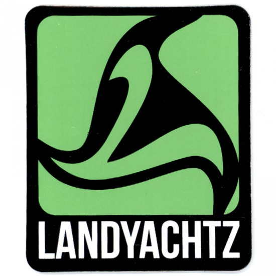 Landyachtz Green Logo Sticker